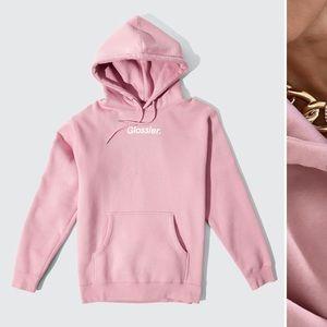 Glossier Original Pink Hoodie 💞✨